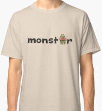Monster Text Cartoon 001 Classic T-Shirt