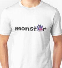 Monster Text Cartoon 002 Unisex T-Shirt