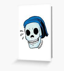 Boneheaded Greeting Card