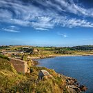 Braye and the Arsenal from Roselle - Alderrney by NeilAlderney