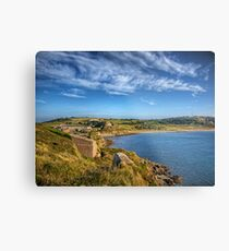 Braye and the Arsenal from Roselle - Alderrney Metal Print