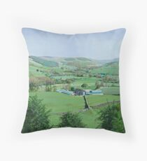 Nidderdale, North Yorkshire, UK Throw Pillow