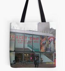 Hayward Gallery/Tracey Emin Exhibition -(180511a)- digital photo Tote Bag