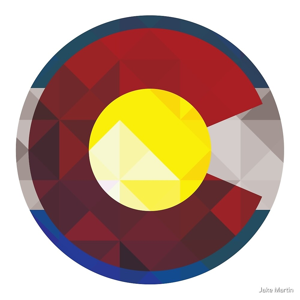 Colorado Flag C by Jake Martin