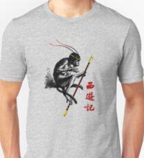 Reise in den Westen Slim Fit T-Shirt