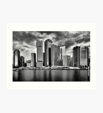 City of Brisbane Art Print