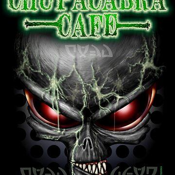 Chupacabra Cafe ( Alien ) by LinkArtworks