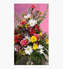 Flowers for Janice Photographic Print