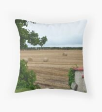 All in a days work! Throw Pillow