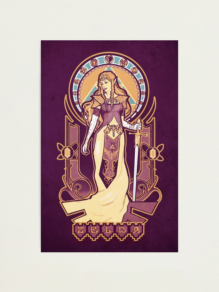 Alternate view of Zelda Nouveau Photographic Print