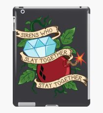 Slay Together, Stay Together - Gotham City Sirens Clean iPad Case/Skin