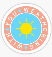 Weathering With You Sunny Sticker