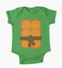 Turtles In A Half Shell One Piece - Short Sleeve