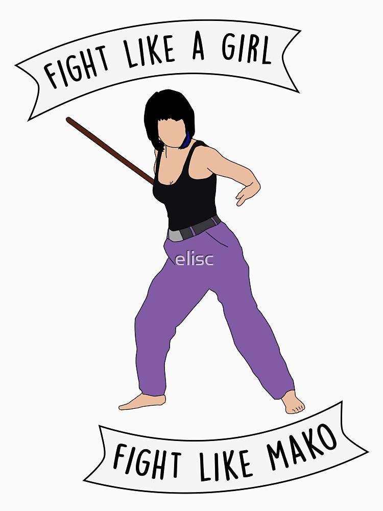 Fight like Mako by elisc