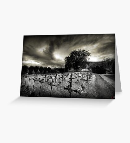I will protect you Greeting Card
