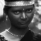 Young Tribal Lady by Mukesh Srivastava