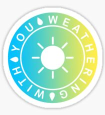 Weathering With You Sunny Gradient Sticker