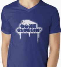 Gone Clubbin' V2 Men's V-Neck T-Shirt