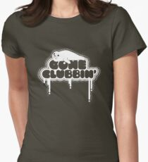 Gone Clubbin' V2 Womens Fitted T-Shirt