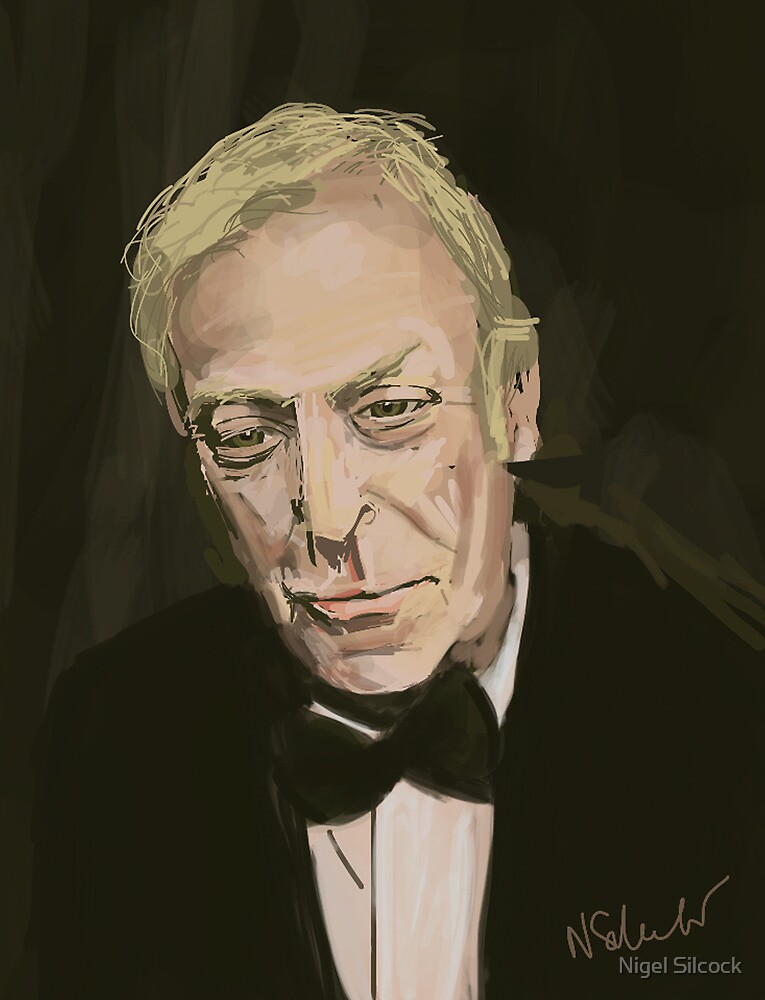 Michael Caine by Nigel Silcock