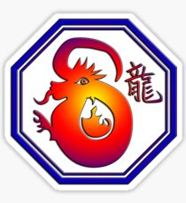 Chinese New Year of The Dragon Sticker