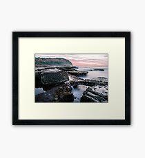 Bar Beach, NSW, Australia Framed Print