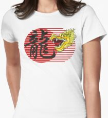 Chinese New Year Dragon Women's Fitted T-Shirt