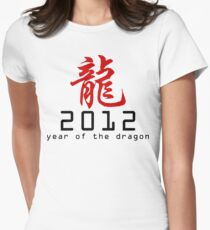 Chinese New Year 2012 Women's Fitted T-Shirt
