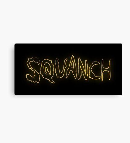Rick & Morty-SQUANCH Canvas Print
