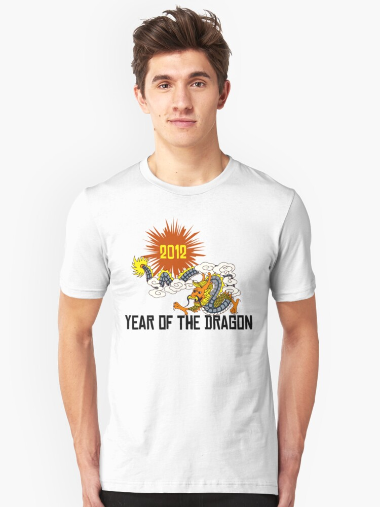Year of The Dragon 2012 Unisex T-Shirt Front