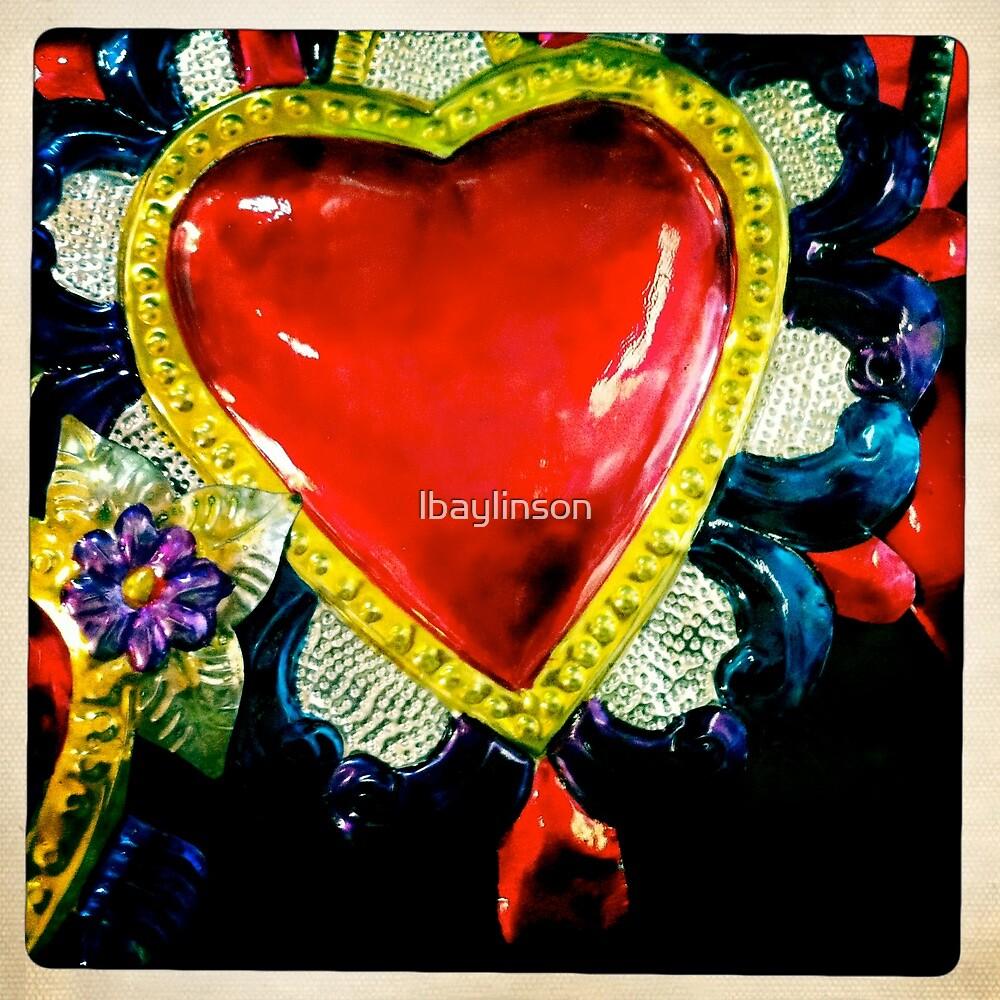 Flaming Corazón by lbaylinson