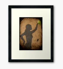 It's only a shadow... Framed Print