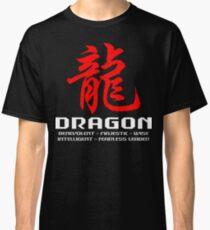 Chinese Zodiac Dragon Characteristics Classic T-Shirt