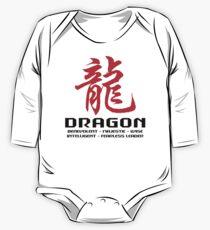 Chinese Zodiac Dragon Characteristics  One Piece - Long Sleeve