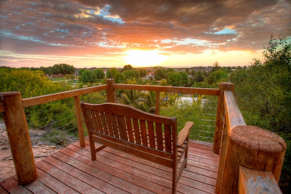 Beautiful place to relax & read a book, Coral bay, Western Australia by Marc Russo