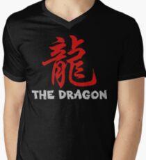 Chinese Zodiac Dragon Men's V-Neck T-Shirt