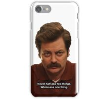 Whole-Ass One Thing iPhone Case/Skin