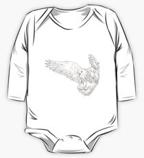 Owl hand drawn One Piece - Long Sleeve
