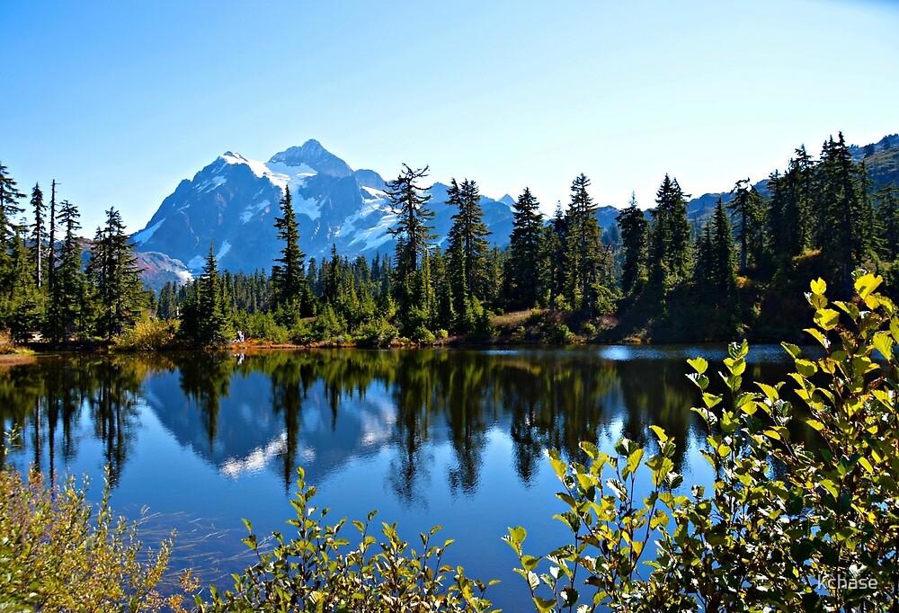Mt Shuksan Reflection in Highwood Lake by kchase