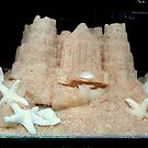 Sandcastle cake. by Livvy Young