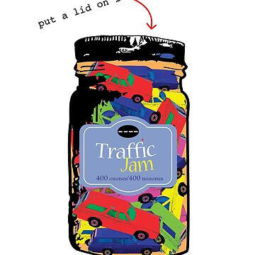 Traffic Jam - Put a lid on it by bikepath