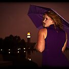 Lisa standing in the rain by Erovisions Studio