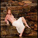 Lisa on waterfall by Erovisions Studio