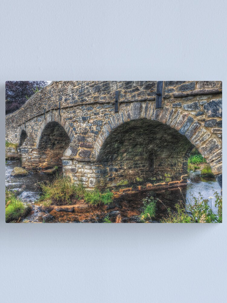 Alternate view of Crossing The River Canvas Print