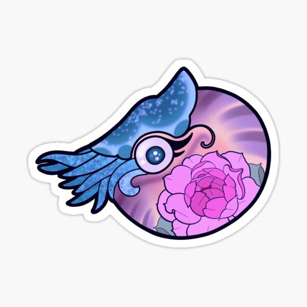 SQUID STICKER (purple) Sticker
