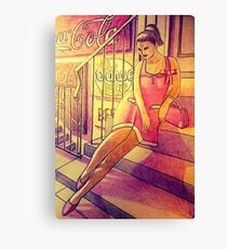 50s pinup Canvas Print