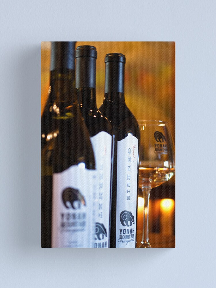 Alternate view of Yonah Mountain Wines Canvas Print