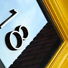 Yellow Door. Savannah, Georgia  by Allison  Flores