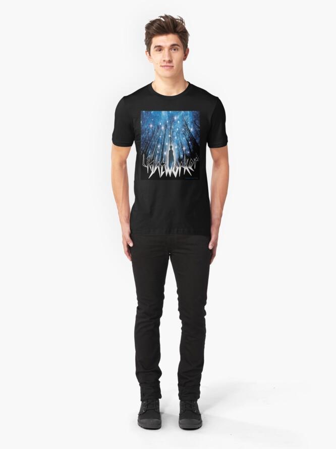 Alternate view of Lightworker Slim Fit T-Shirt