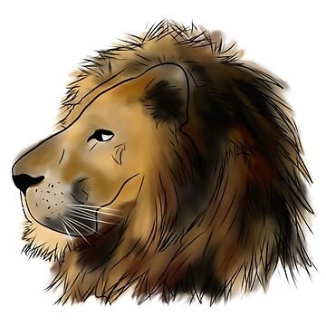 A Lion head by ryanjhoe